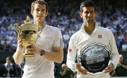 Winners: Andy Murray, left