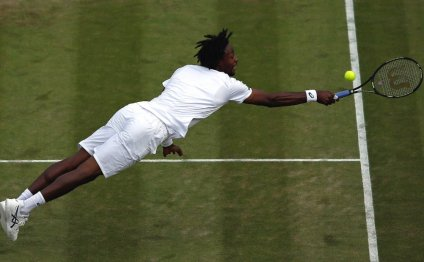 Monfils is known for his