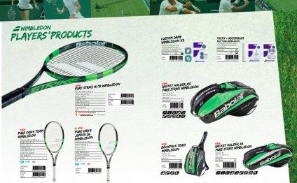 La gamme Babolat Wimbledon