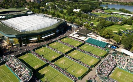 Private Wimbledon Tennis Tour