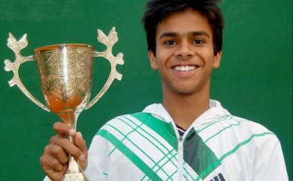 Sumit Nagal Wins Junior Boys