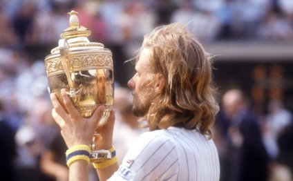 Bjorn Borg shocked the tennis