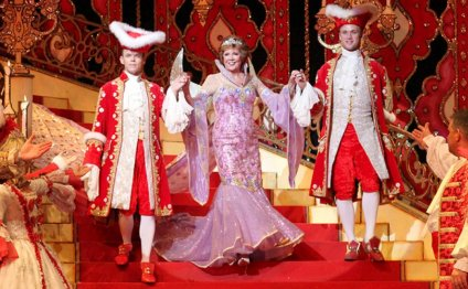 Panto at Wimbledon Theatre