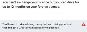 Operating In The UK - Exchanging Licence UK