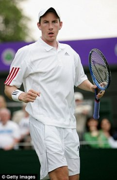 He overcome Argentina's Carlos Berlocq, after that world No 89, in right sets in first-round match in 2006