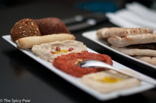 Hot and cool Mezze Platter