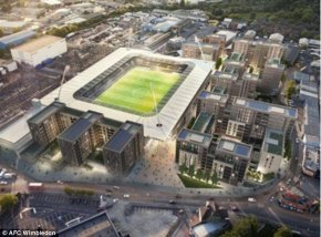 Merton Council have authorized AFC Wimbledon's plans for a unique stadium at Plough Lane