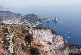 On a trip to Capri in Italy. Picture courtesy: Asia Today Spice