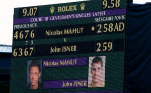 Longest Tennis match Wimbledon