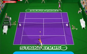 Stick Tennis Wimbledon