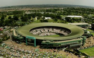 Wimbledon Tennis map