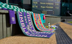 Wimbledon Tennis towel