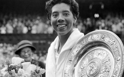 First black Tennis player to win Wimbledon