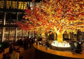 Sushi Samba is destination - for the atmosphere and views whenever its sushi (image: Sushi Samba)