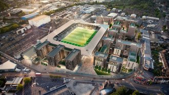 the initial photos regarding the brand-new housing development at Wimbledon Football Stadium have-been launched