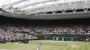 Theatre: Centre Court was packed again at the climax to an extraordinary titles