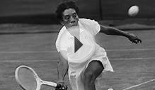 Althea Gibson is first African American to win Wimbledon