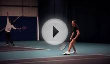 British womens tennis star - sponsorship video (wimbledon)
