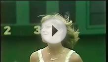 Chris Evert at Wimbledon (1975-79) vs King/Navratilova