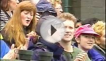 Cliff Richard entertains at Wimbledon Centre Court 1996