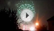 Danson Park firework display 2011 (last 3.5 minutes) from