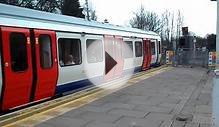 District Line S7 Stock departing at Wimbledon Park