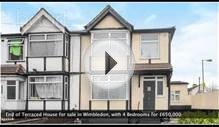 End of Terraced House for sale in Wimbledon for £650,