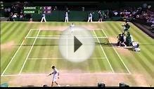 Federer vs Djokovic Wimbledon Final 2014