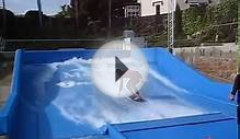 FLOWRIDER AT THE MERTON HOTEL, JERSEY - Vague artificielle
