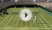 Full Ace Tennis Simulator - Wimbledon - Exhibition