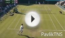Gael Monfils vs Pablo Carreno Busta Highlights Wimbledon 2015