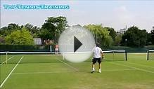 Gasquet Training @ Wimbledon 2014-Court Level View