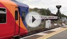 (HD) South West Trains services at Wimbledon