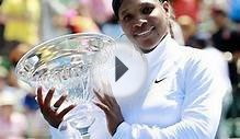Serena claims first title since 2010 Wimbledon