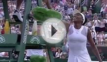 Venus Williams wins her first round match - Wimbledon 2014