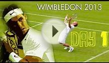 Wimbledon 2013: Day 1 - Nadal Out First Round