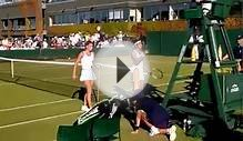 Wimbledon 2015 Camila Giorgi match point vs Pereira