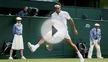 Wimbledon 2015: Roger Federer delights centre court in Sam