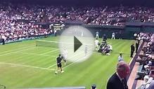 Wimbledon Center Court - Nadal v Bellucci