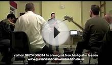 wimbledon school of guitar lesson sample